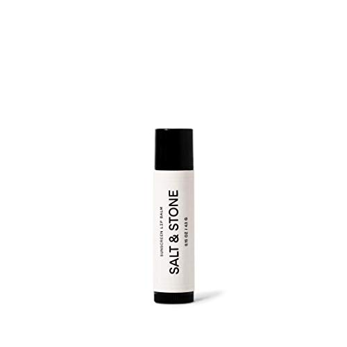 Salt Stone SPF 30 Lip Balm Broad Spectrum Lip Protection that Sinks in Effortlessly and is Water Resistant and Reef Safe Cruelty Free Gluten Free Made in USA 0