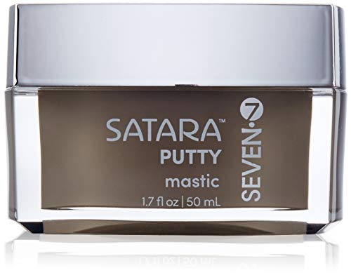 Satara Putty Mastic from SEVEN Haircare Anti Frizz Defining Cream for Curly Hair or Straight Hair Gluten Free Alcohol Free 17 fl oz 0