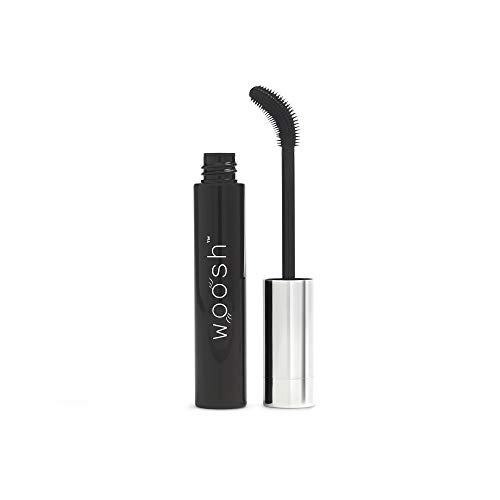 Woosh Beauty Flex and Curl Mascara Lightweight formula for natural lashes and no clumping gluten free 0