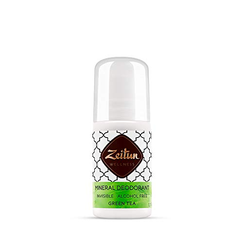 Zeitun Wellness Natural On Crystal Crystal Deodorant Ritual Of Purity Alcohol Free Aluminum Free Deodorant For Women With Colloidal Silver And Green Tea Scent 17 fl oz 50 ml 0