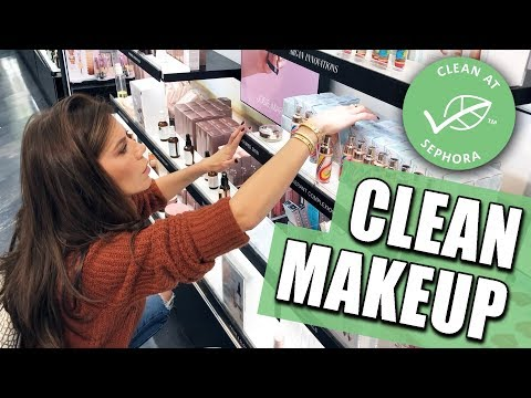 """Full Face of """"CLEAN MAKEUP"""" Try-on & Wear Test by Tati"""