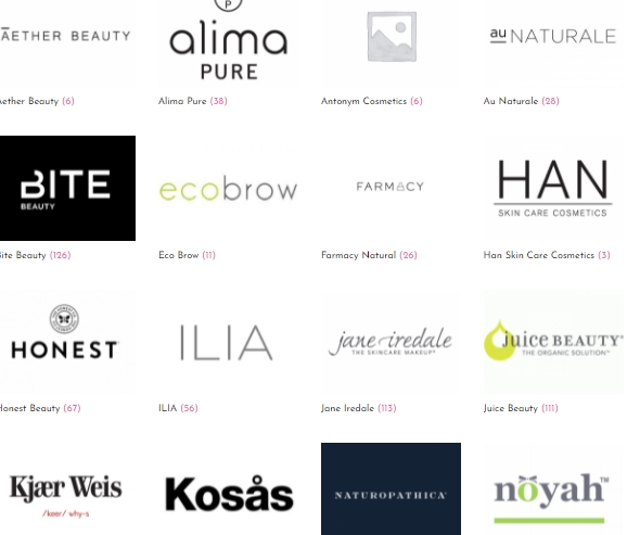 Photo of Clean Makeup Brands