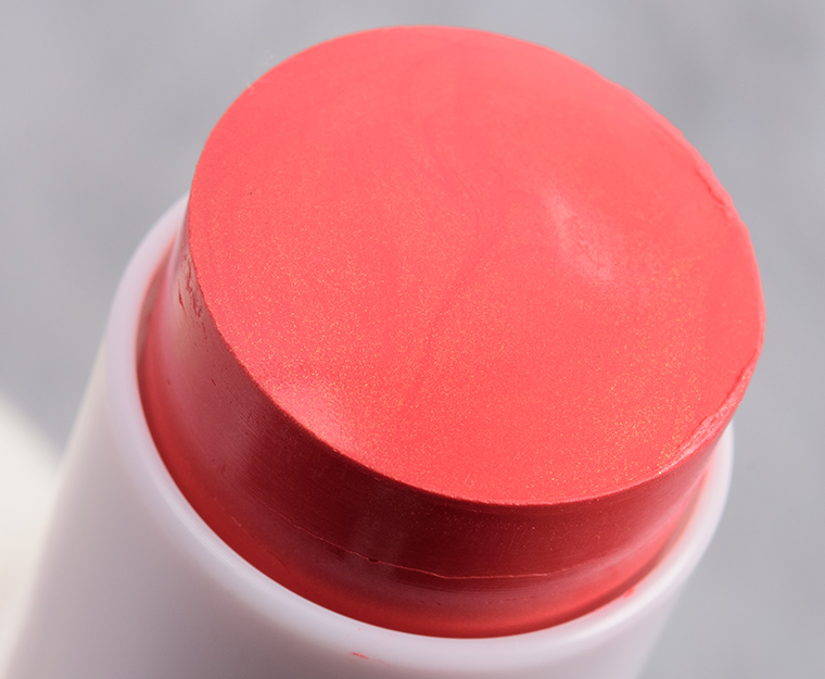 Makeup by Mario Soft Coral Soft Pop Blush Stick Review & Swatches